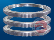 China OEM Custom Carbon Steel Ring Flange Forging / Forged Slew Bearing , Height 1500mm factory