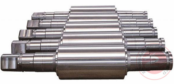 Shaft Forging, Roller Forging For Industry,  Rough Machined With Heat Treatment