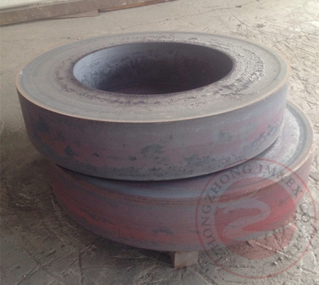 China DIN, ASTM, EN Hot rolling ring, steel flange, rolled flange, ring flange, flange forging distributor