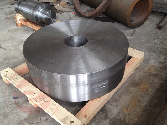 China ASTM A388 EN10228 Rolled Ring Flange Forged 50 ton , Carbon Steel Flange Forging distributor