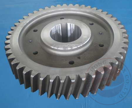 China DIN GB Internal / External Gear Forging Stainless Steel For Ring Rolling Machine distributor