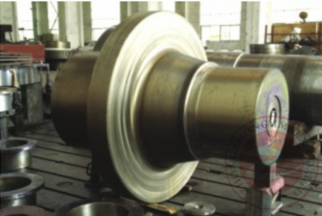 China Alloy Steel Metallurgical Machinery Forging Shaft , ASTM EN Open Die Forging distributor
