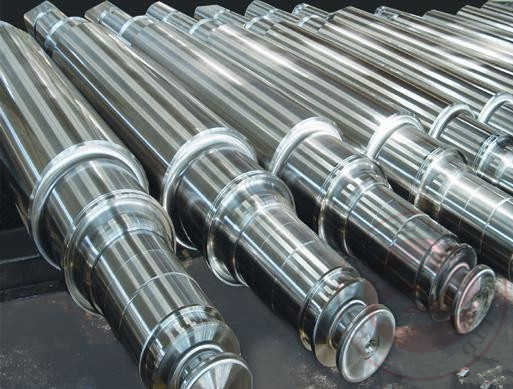 China 20CrMnMo Stainless Steel Forgings Carrier Roller , High Temperature Resistance distributor