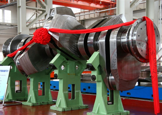 China Heave Air Compressor Crankshaft Forging 100 Ton For Oil Field , ASTM EN ISO distributor