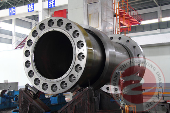 China Alloy Steel Forged Spindle Shaft Forging 100T OEM For Hydraulic Generator distributor