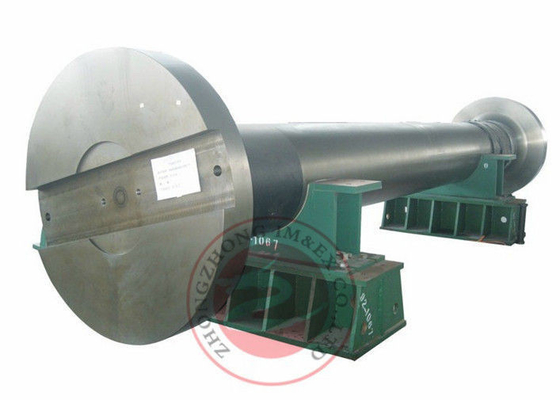 China Forged Flange Spindle Steel Shaft Forgings ASTM A388 Hydroelectric Power Station distributor