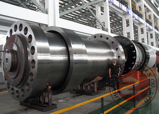 China Electric Machinery Hydraulic Turbine Main Shaft Forging 100T OEM , High Precision distributor